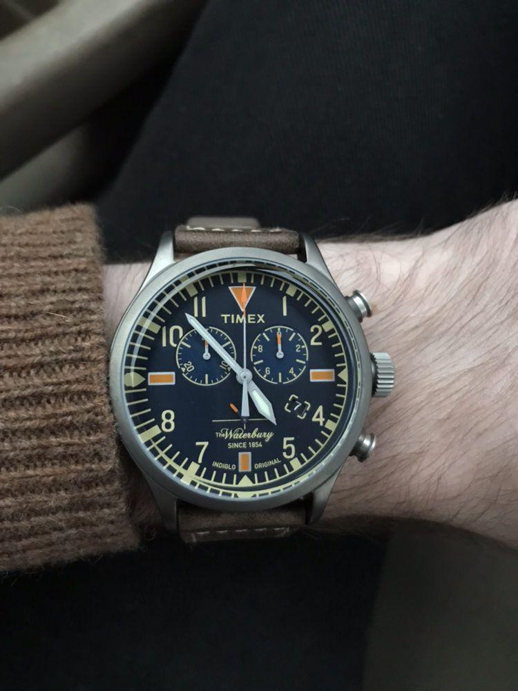 06bdd9f81 Timex] Waterbury Chronograph   Watches in 2019   Timex waterbury ...