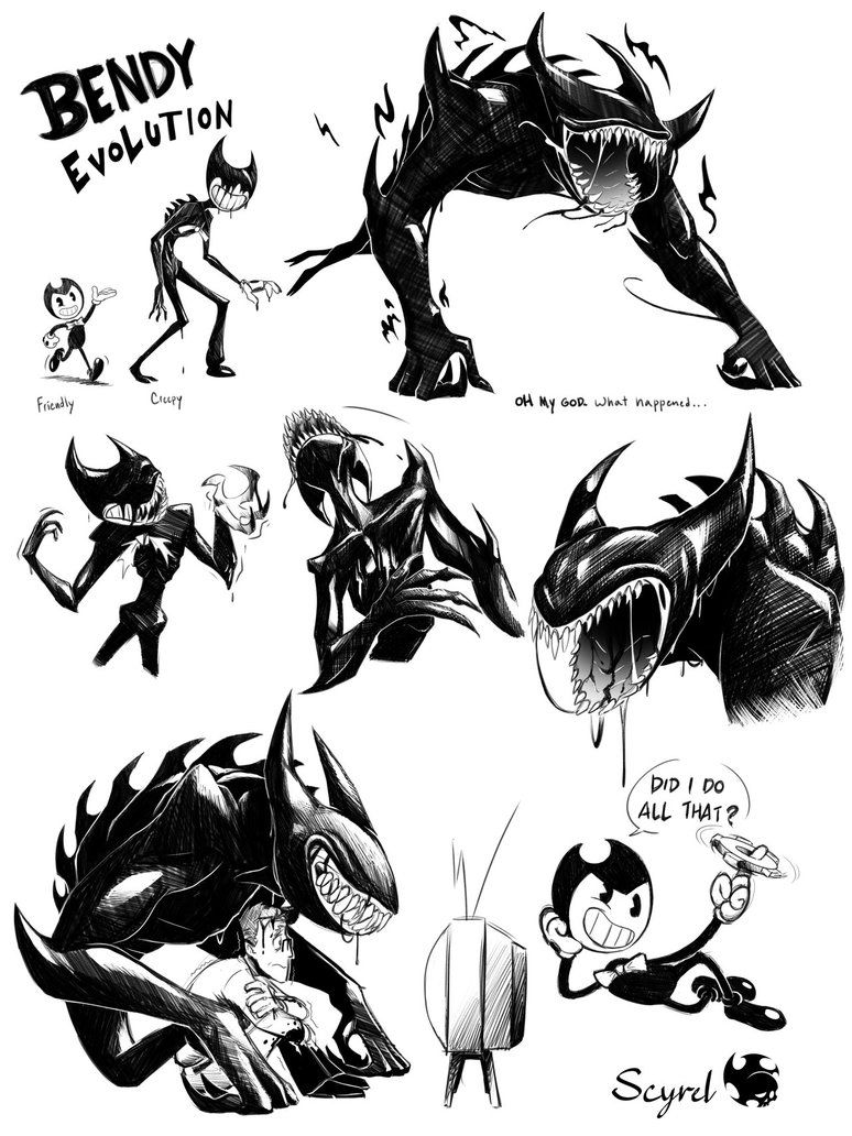 beast bendy chapter 5