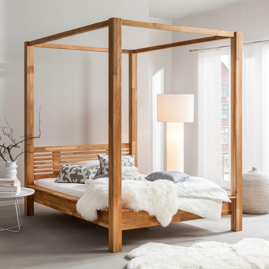 Himmelbett Lisa Massivholz 180 X 200cm Buche Himmelbetten Himmelbett Bett