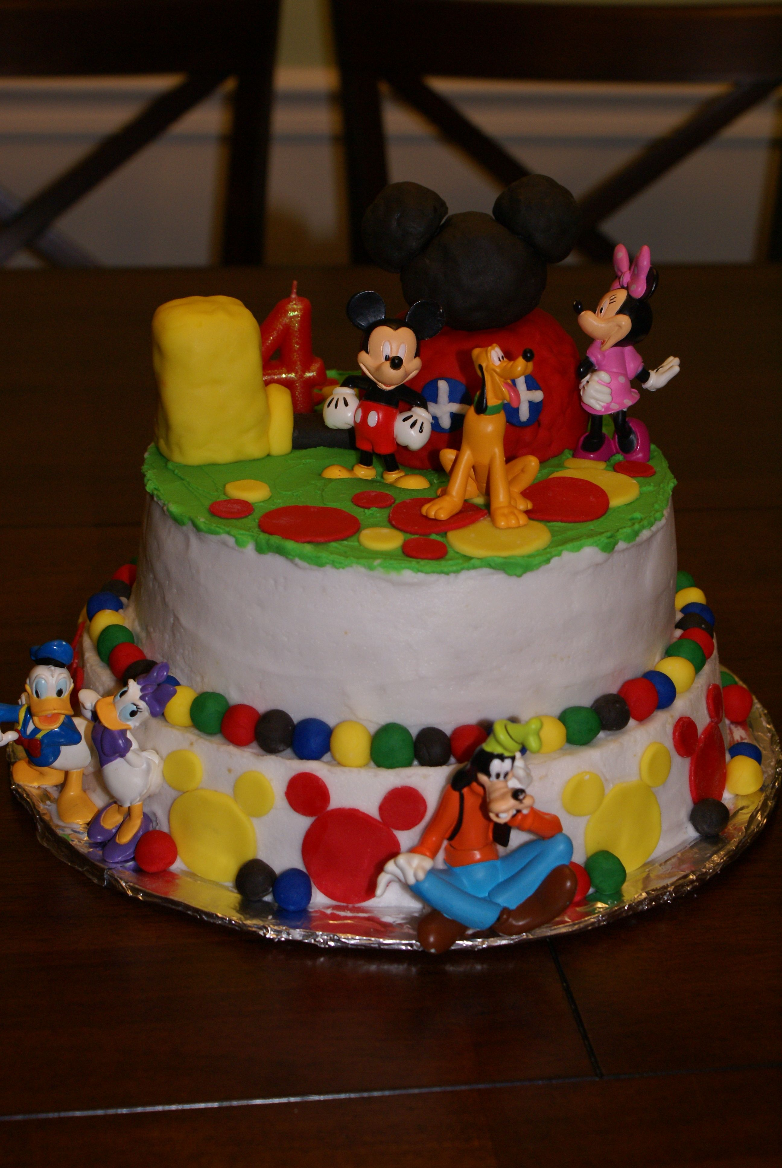 Mickey Mouse Clubhouse Cake My Cakes Pinterest Mickey Mouse