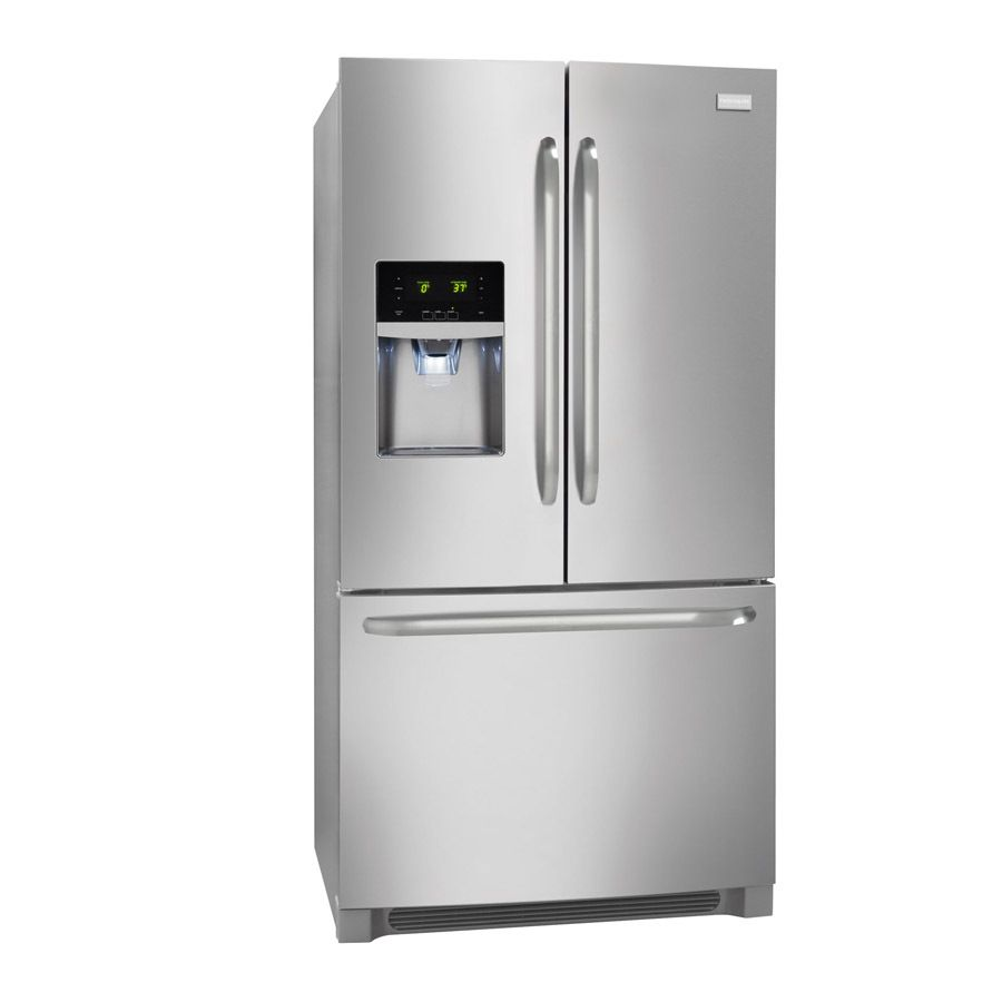 Shop Frigidaire 27 19 Cu Ft French Door Refrigerator With Single