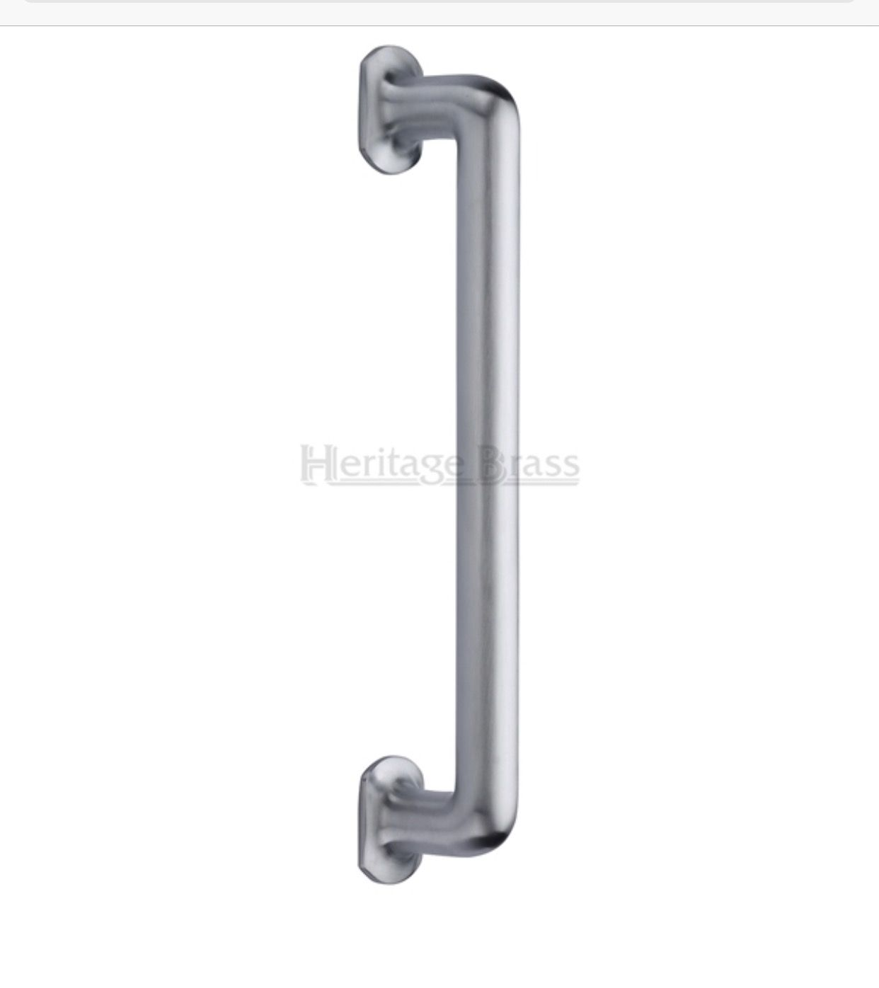 Traditional Pull Door Handle Dimensions Two Sizes Available