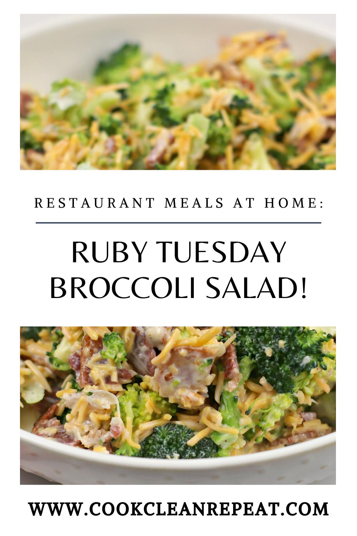 Broccoli Salad Recipe Like Ruby Tuesdays