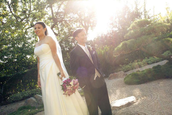 Eric & Amy Earl Burns Miller Japanese Garden Wedding