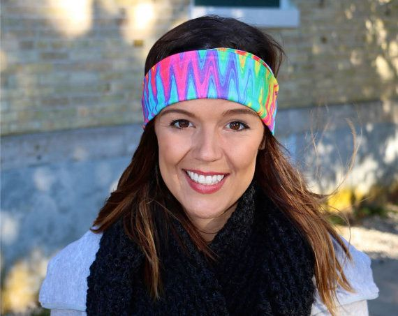 BlockHead Bands - Crazy Band, soft, comfortable, stays on during your toughest work outs, wear it wide or fold it in