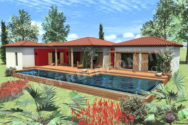 La maison calebasse, gite location de villas à saint-françois en