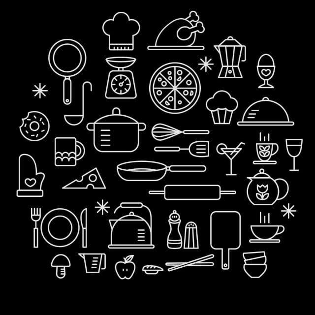 مطبخ طبخ Iconset مجانا مديرية الأمن العام مطبخ طبخ أيقونة Png وملف Psd للتحميل مجانا Cooking Icon Cooking Clipart Kitchen Logo
