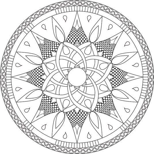 """Goddess"" Mandala"