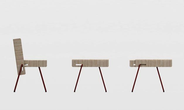 Flip Chair Flip Chair Is It A Coffee Table A Chair Or Both Furniture Design Red Dot Design Design Awards