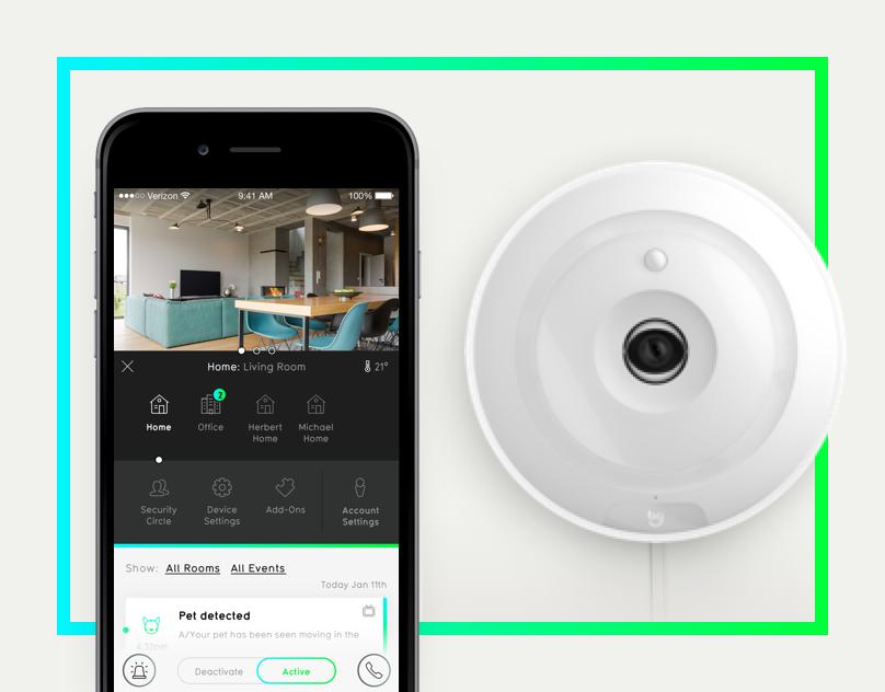 Echa un vistazo a este proyecto @Behance: \u201cBuddyGuard Home Security App\u201d https://www.behance.net/gallery/42496279/BuddyGuard-Home-Security-App