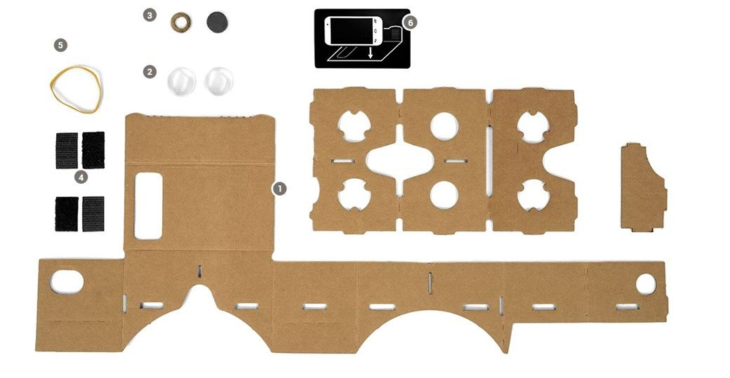 25450fb16 Cardboard, o óculos de papelão da Google para enxergar realidade virtual -  TecMundo