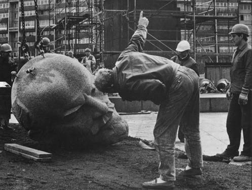 As the Soviet Empire fractured, symbols of the Party were dismantled. Huge statues of Lenin and Stalin were toppled, alternately grieved or ...