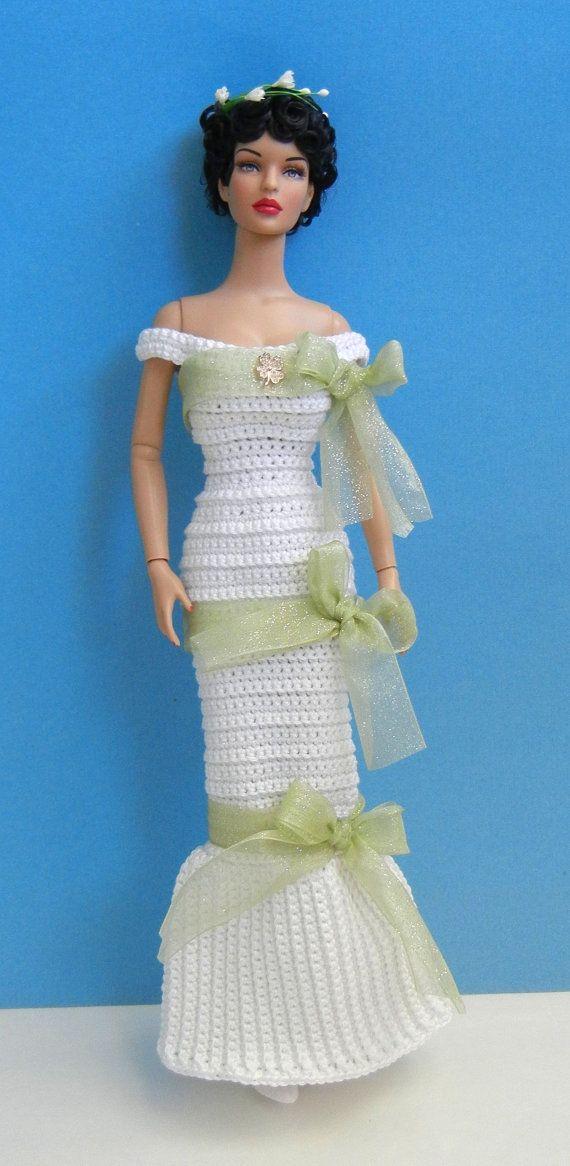 Irish Bride dress Wedding gown for 16 fashion by PrincessOfCrochet