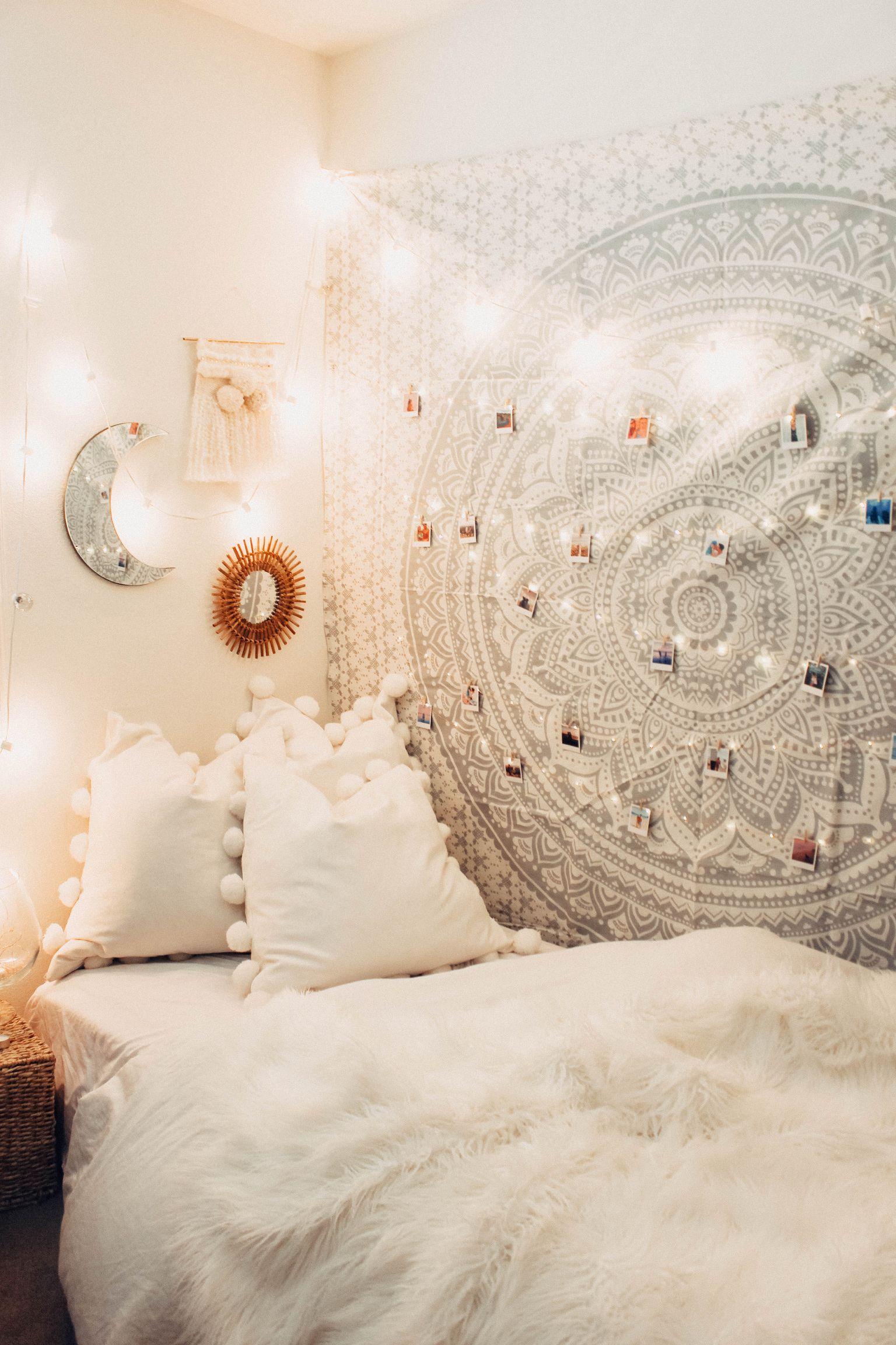 Lady Scorpio Ladyscorpio101 Silver White Bohemian Bedroom Decor