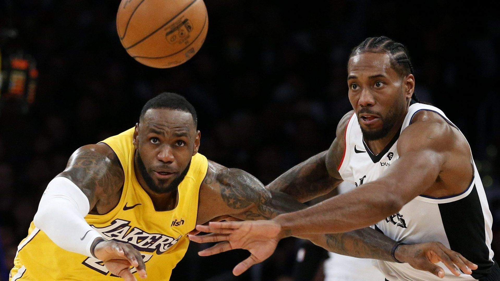 The Lakers And Clippers Have Never Met In The Playoffs Which Is The Central Reason There Has Never Been A Real Los Angeles In 2020 Nba News Lakers Vs Clippers Lakers