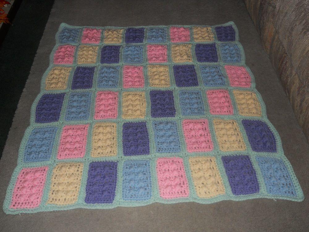 Crochet Lego Blanket. Crochet too! Pinterest