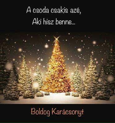 Karácsonyi köszöntő