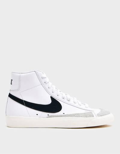 Nike Blazer Mid 77 Vintage In White Black In White Nike Blazer Nike Blazer