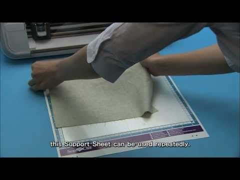 Brother Scan N Cut Fabric Tutorial How To Cut Fabric For