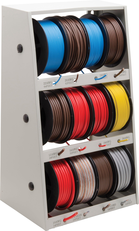 Wall Mountable Wire Storage Case Princess Auto