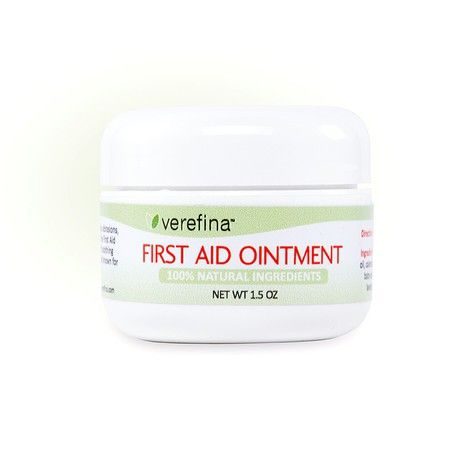 First Aid Ointment~ Our 100% natural First Aid Ointment brings you the same benefits of the First Aid Stick in an ointment form. It is a natural, effective alternative for cuts, scrapes, abrasions, bug bites and other minor skin irritations. The First Aid Ointment brings together a powerhouse of soothing ingredients that are unfriendly to bacteria and known for their potency.