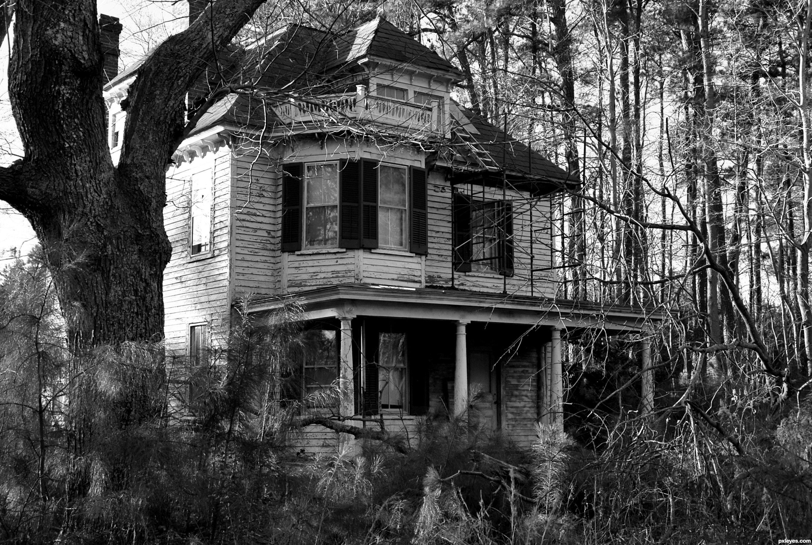 Pictures of scary houses