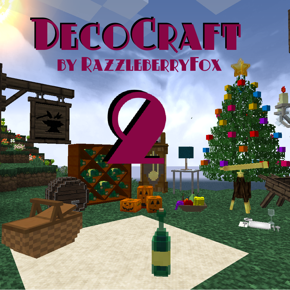 ~DecoCraft 2.1!!~ Decorations For Minecraft! 50+ More