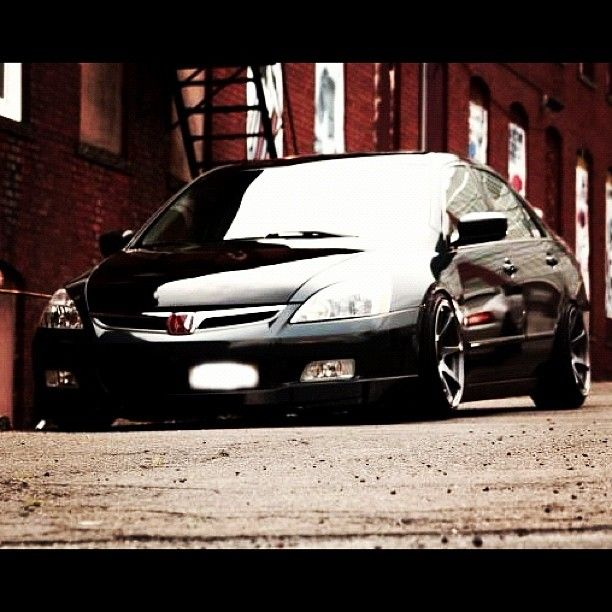 2006 Honda Accord Drop To Streets Send To Us By Cool Kid Tnb Streetaddicts Streetaddicts Webstagram Honda Accord Honda Cars Black Honda