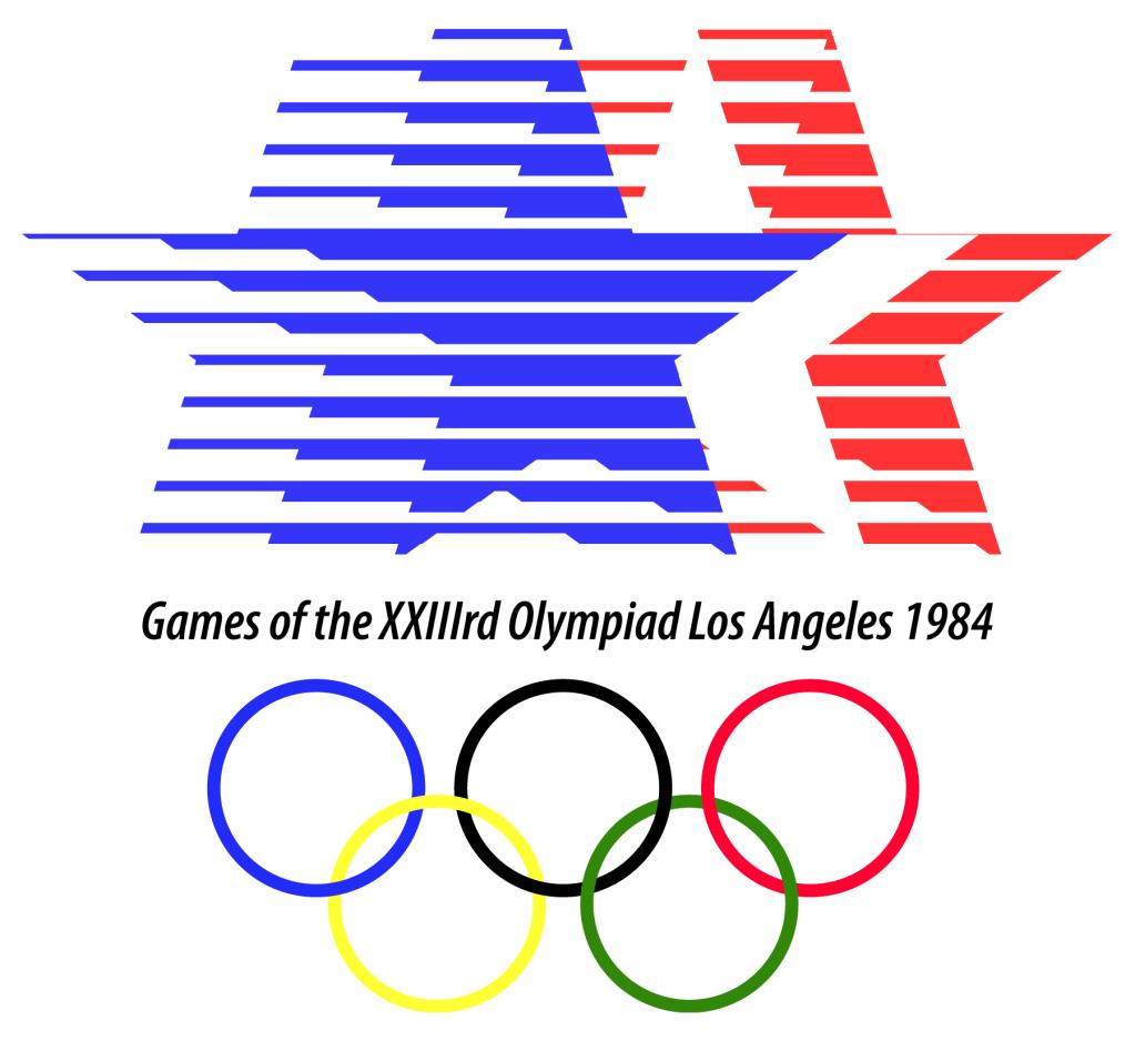 1984 Olympics Logo Olympic Logo 1984 Olympics 1984 Summer Olympics