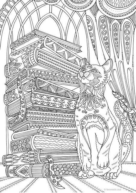 Cat Zen Coloring Book You'll Love