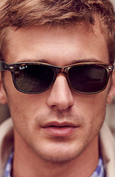 c66f2032f0  New Wayfarer  55mm Polarized Sunglasses.