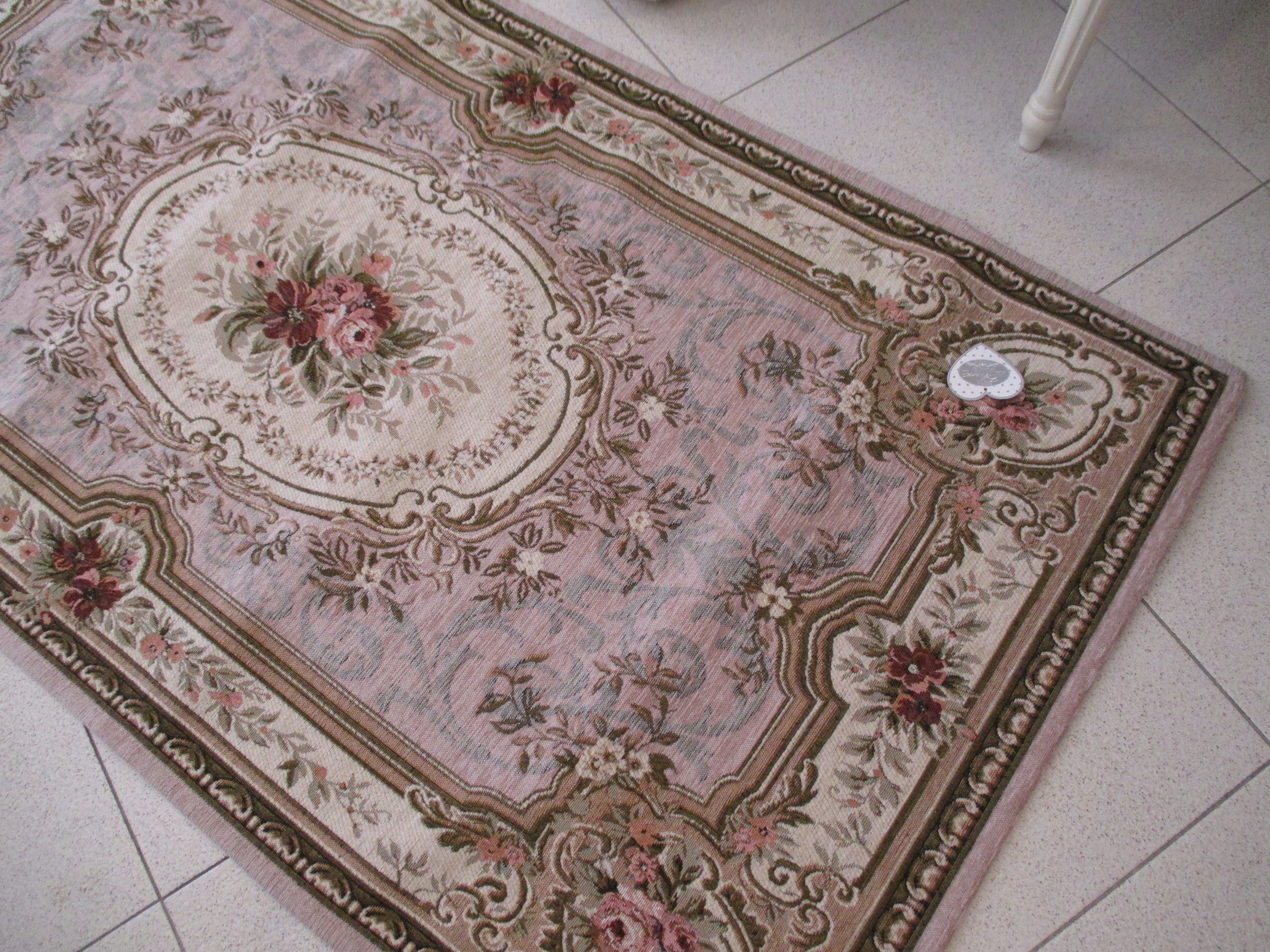 Blanc maricl tappeto shabby chic elegant sabbia http for Tappeti country chic