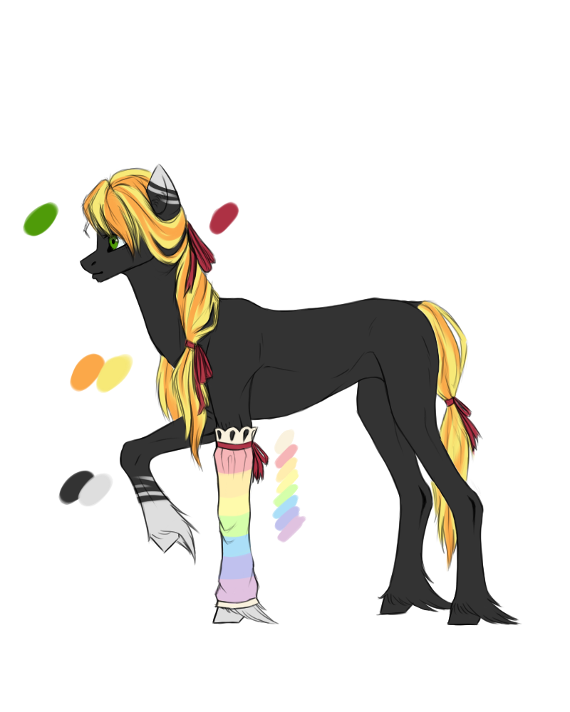 Pony redezign by WhiteOwl747.deviantart.com on @DeviantArt