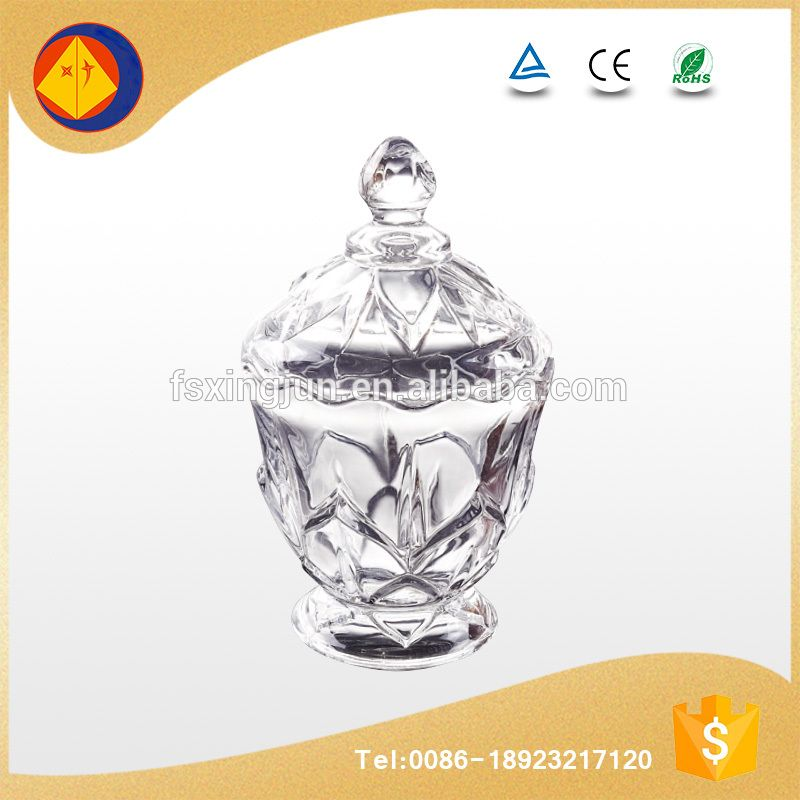 new issue luxury unique engraved save food empty cheap glass candy