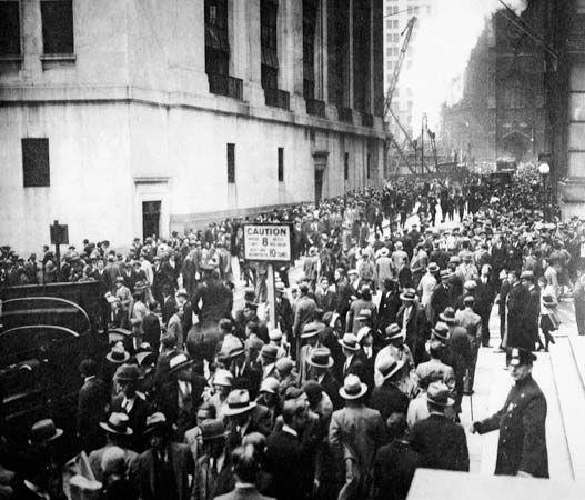 Stock Market Crash Of 1929 Stock Market Crash American History
