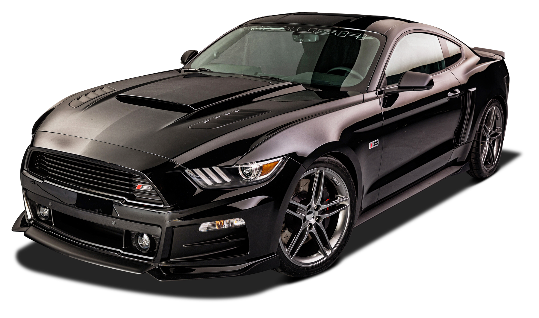 Stylish Black Ford Roush Rs Mustang Car Png Image Mustang Cars Mustang Car
