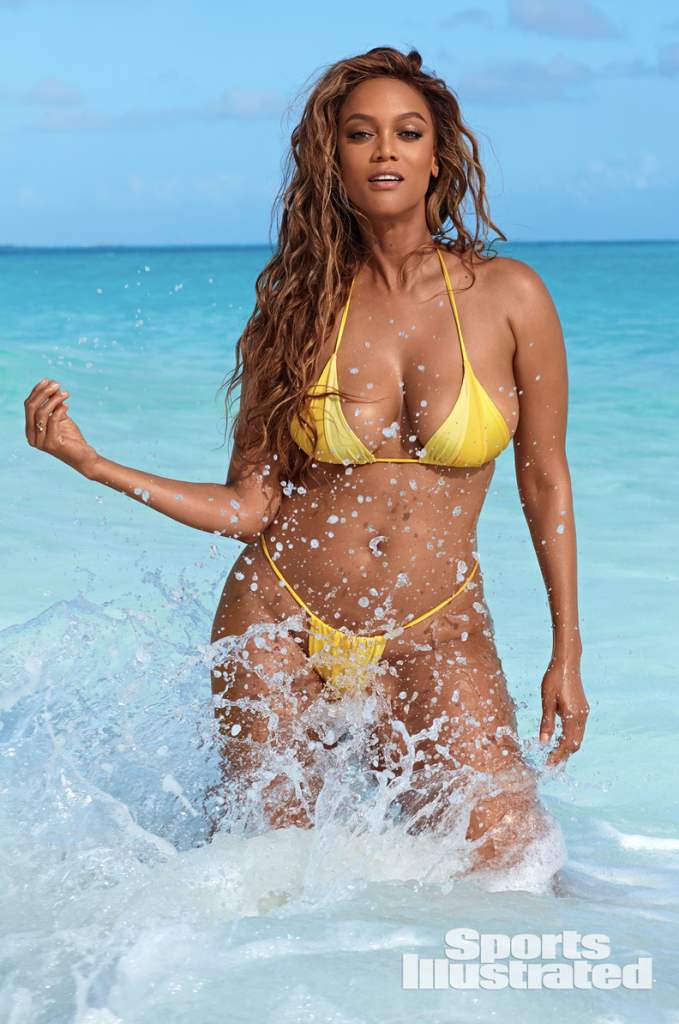 Tyra Banks Brings Her Bangin Body Out Of Retirement And The Internet Rejoices In 2020 Bikini Photoshoot Tyra Banks Hot Sports Illustrated Swimsuit