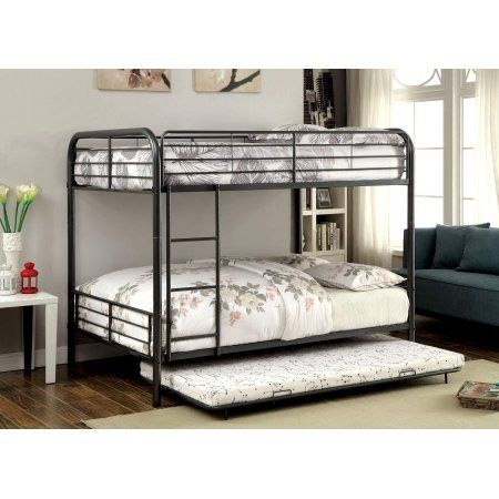 Best Furniture Of America Buster Metal Full Over Full Bunk Bed 400 x 300