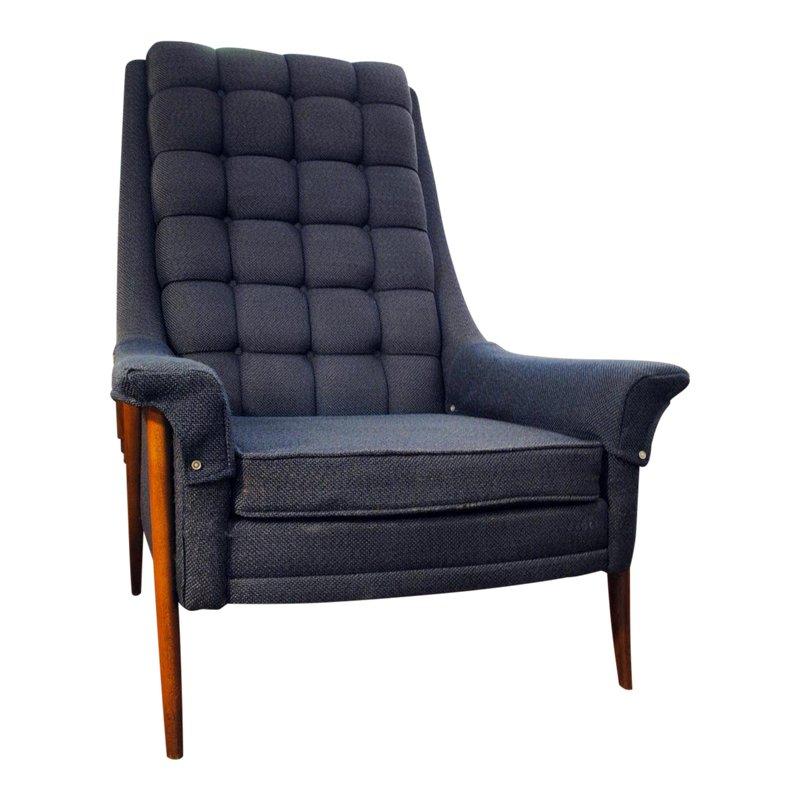 Kroehler Accent Chair Elan Key Pattern: Mid Century Modern Kroehler 'Avant' Lounge Chair