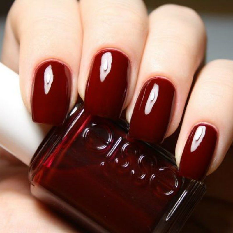 The 5 Most Popular Fall Nail Polish Colors On Pinterest En