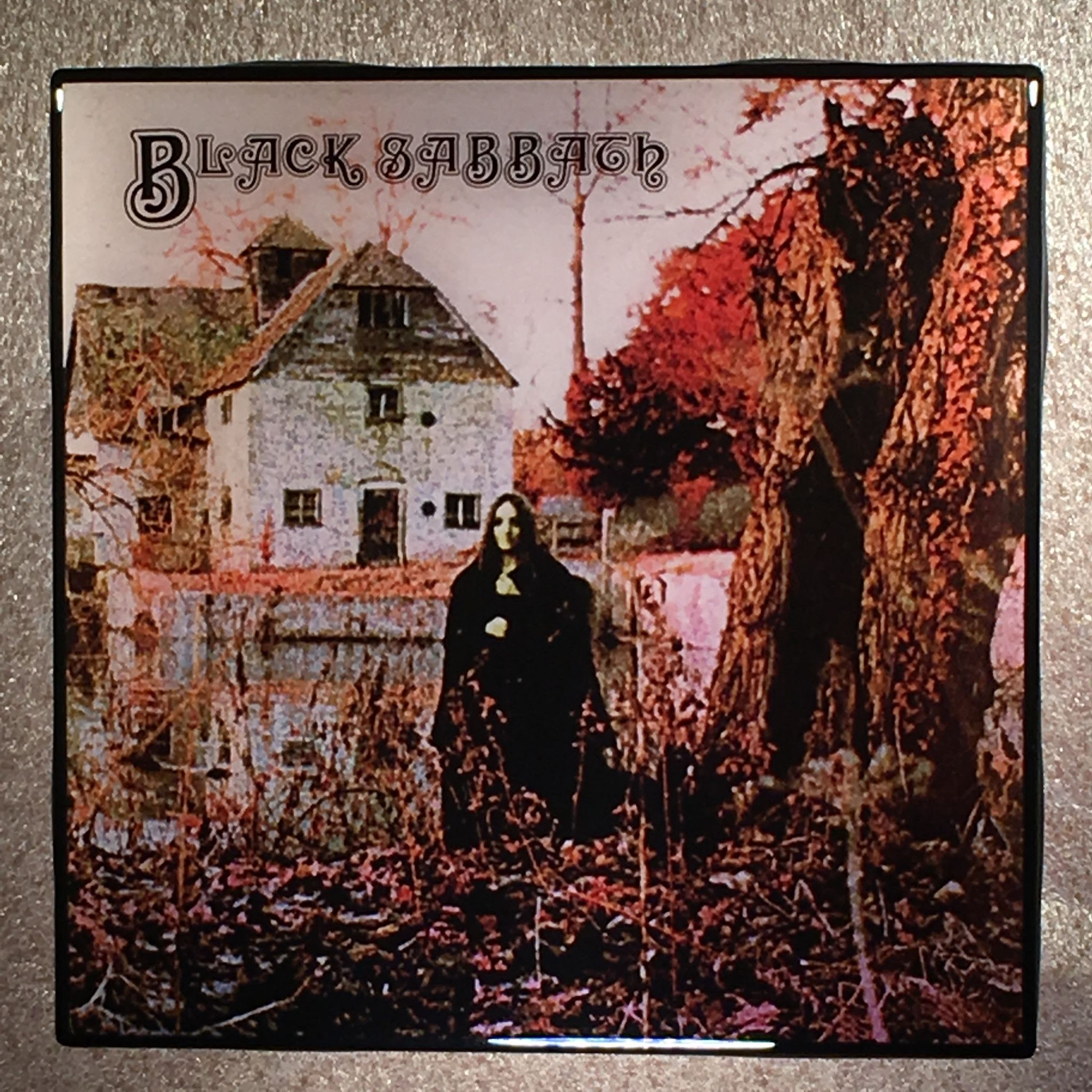 Black Sabbath Coaster First Custom Ceramic Tile In 2019