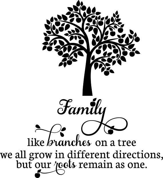 Family Tree Vinyl SVG File