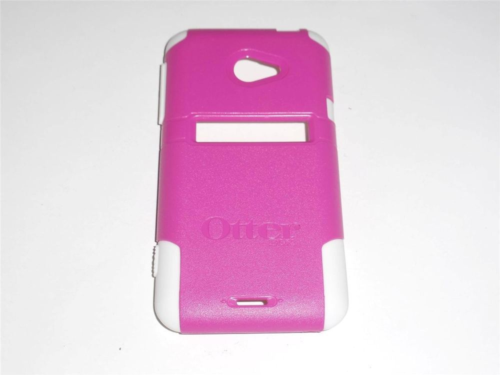 Genuine OtterBox Commuter for HTC Evo 4G LTE Pink and White