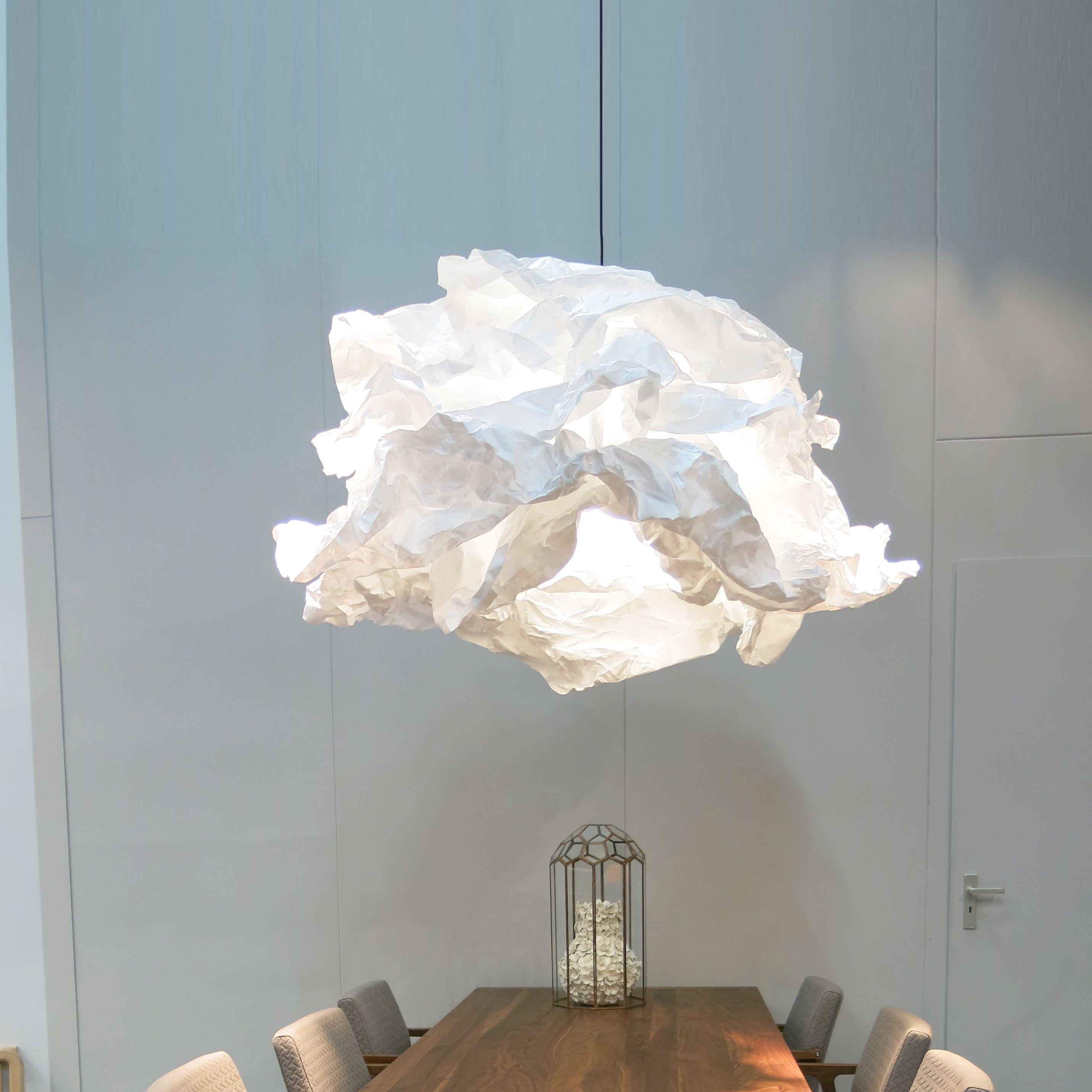 Pendant light, CloudNuage, white, Ø120cm PROPLAMP in