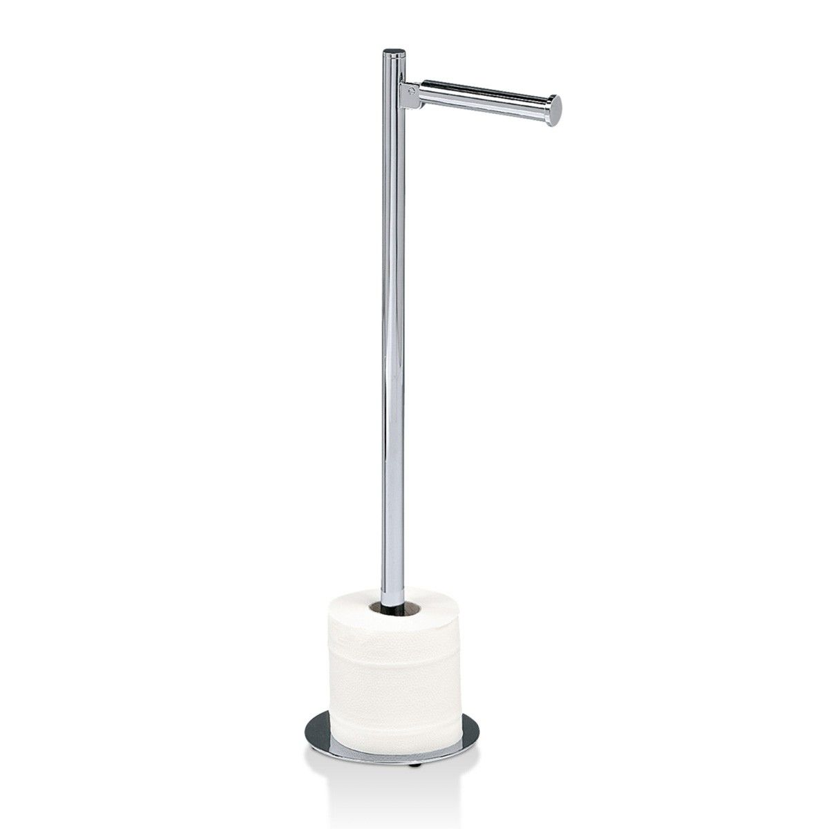 Dw 11 Free Standing Toilet Paper Holder In Chrome Modo Bath Free Standing Toilet Paper Holder Toilet Paper Holder Toilet Paper