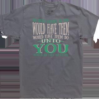 Do Unto Others Anti Bullying T-shirt Custom Design High School ...