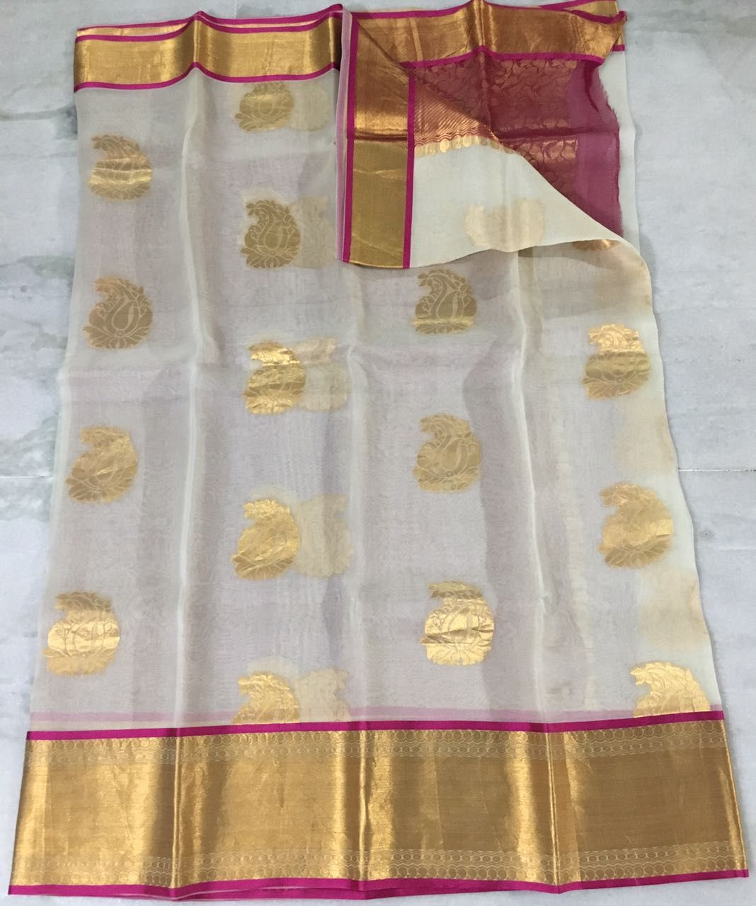 02964f5298de83 Pure Organza Silk Sarees Buy Online https://slokaonline.com/collections/
