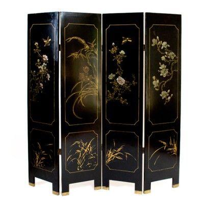 6 Door Wardrobe Wooden Ivory with Screen Printing