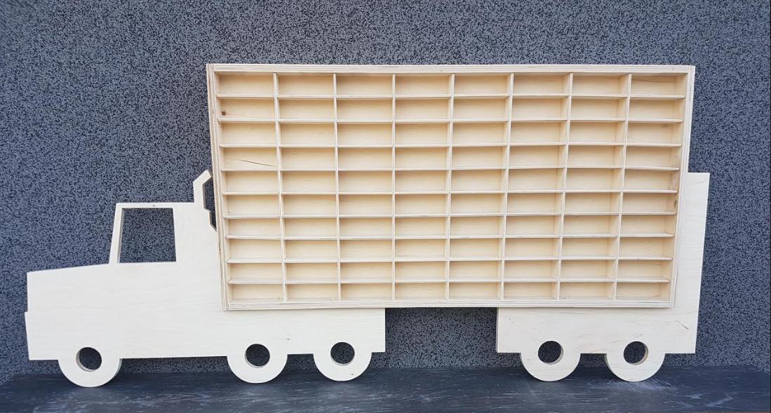 Hot Wheels Diecast Car Large Display Plain Wooden Unit Trinket Shelf Toy Storage Ebay In 2020 Large Toy Storage