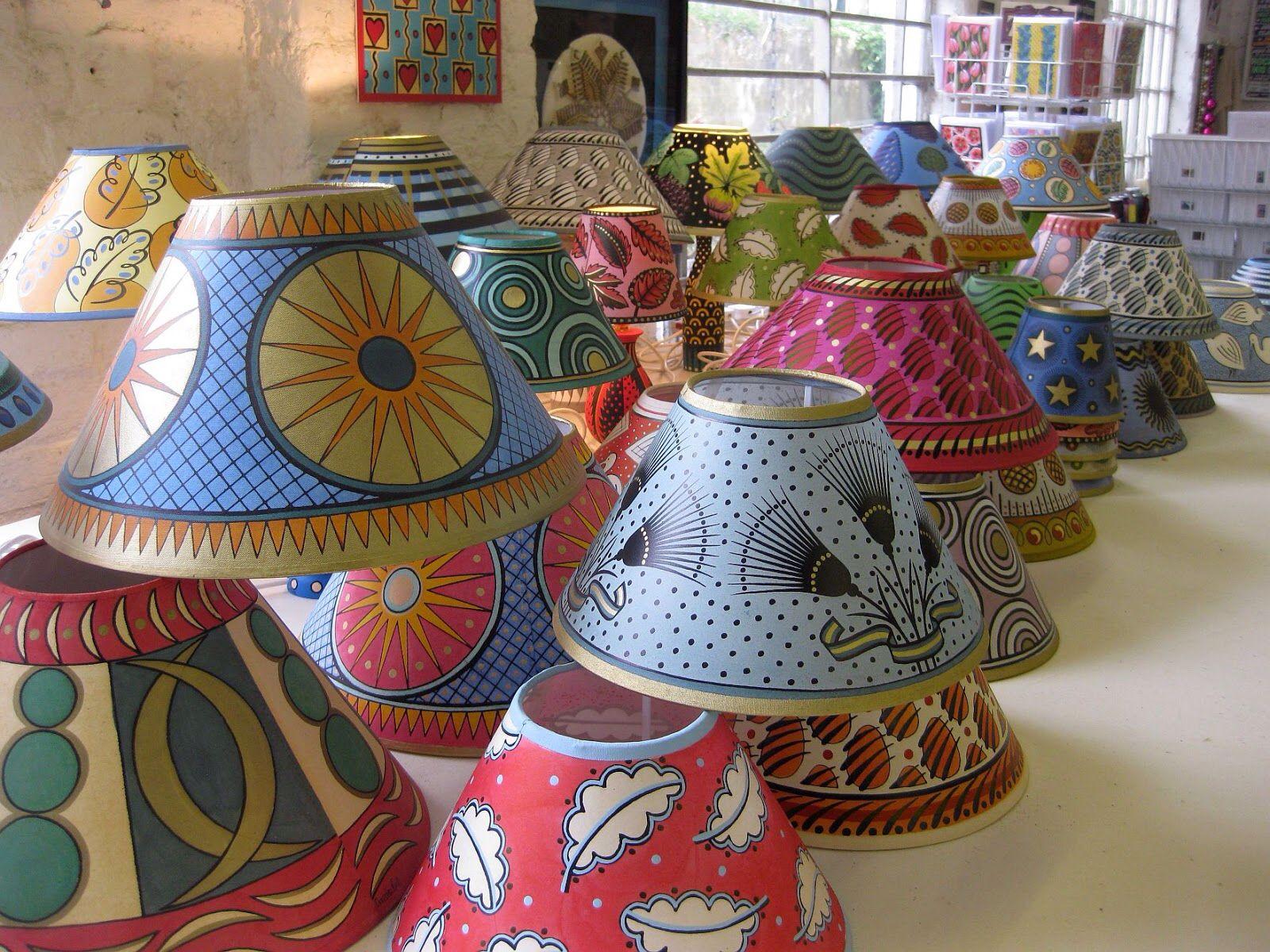 Cressida Bell Lampshades Lampshade Designs Colorful Lamps Cressida Bell